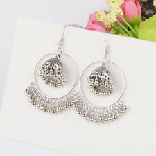 Fashion Bollywood Bohemian Silver Gold Plated Vintage Handmade Dangle Earrings