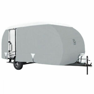 Classic Accessories 80-197-171001-00 PolyPro 3 R-Pod Travel Trailer Cover, 20'