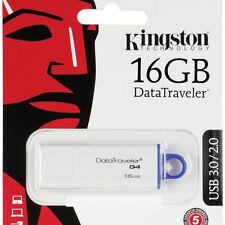 PENDRIVE 16 GB. KINGSTON DATATRAVELER G4 USB 3.0 / 2.0