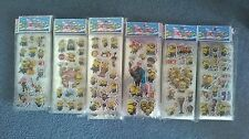 Minions despicable me sticker sheets buy 5 get 5 free stickers party supplies