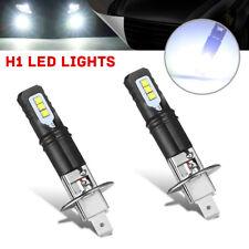 2pcs H1 6000K Super Bright White 6000LM DRL LED Headlight Bulb Kit High Beam p-
