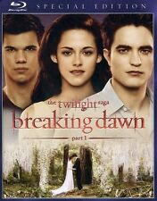 Twilight Saga: Breaking Dawn - Part 1 [Special Edition] (2012, REGION A Blu-ray