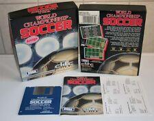 Amiga: World Championship Soccer - Sega 1991