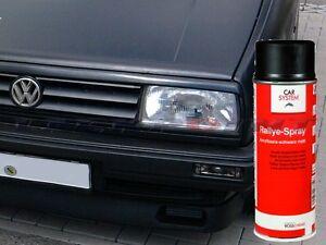GP=12,38€/L 1 Spraydose 400ml Schwarz Matt Autolack Tuning VW Opel BMW Lackpoint