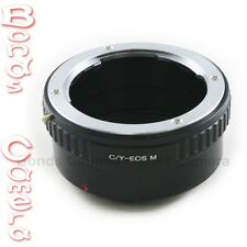 Contax Yashica C/Y CY lens To Canon EOS M EF-M mount Mirrorless Camera Adapter