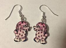 Elephant Earrings Misfit toys for Christmas Pink Poke A Dot Charms