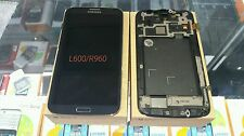 Samsung Galaxy Mega L600 R960 Mist Grey LCD Touch  Display with Frame part