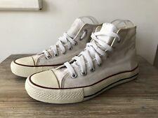 White Converse Boots Size UK 5.5
