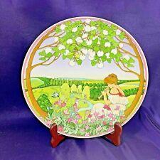 "Villeroy & Boch HEINRICH Plate Four Seasons Summer 9 7/8"""