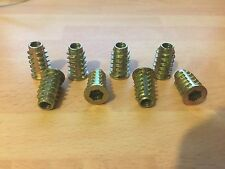 Speaker Spike Inserts M6x20mm Heavy Duty Pack of 8 - Cheapest on ebay!