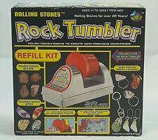 Rolling Stones Rock Tumbler Refill kit New open box