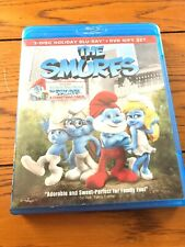 The Smurfs 3-Disc Holiday Blu-Ray & DVD