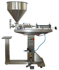 110V Paste Liquid Filling Machine 10-300ml with Stand