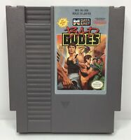 Nintendo NES Bad Dudes Video Game Cartridge *Authentic/Cleaned/Tested*