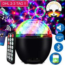 Diskokugel Disco Lichteffekte RGB LED Stage Partylicht Fernbedienung Magic Ball