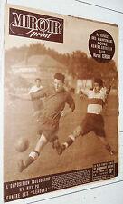 MIROIR SPRINT N°178 1949 FOOTBALL RACING-ARSENAL BOXE RUGBY ROMANS JEU XIII