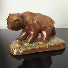 OURS Ancien en GRES FLAMME - Antique Ceramic BEAR