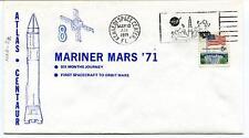 1971 Mariner 8 Mars Atlas Centaur First Spacecraft Orbit Kennedy NASA USA SAT