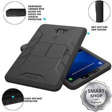For Samsung Galaxy Tab A 10.1 POETIC Revolution Black Case【Built-in Screen】