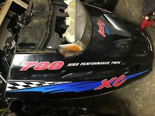 Polaris xc rmk classic gen 2 xcr 99 00 01 02 500 600 700 800 hood cowl NO CRACKS