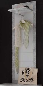 Wardrobe Panel Wood Materials Modern Concrete/White Decoration 48W x148H x25D cm