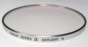 Canon Series IX Skylight Filter  #1