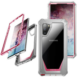 For Galaxy Note 10 A50Case,Poetic[ShockAbsorbing] ProtectionCover Pink