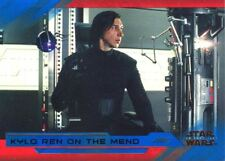 Star Wars Last Jedi S2 Blue Base Card #37 Kylo Ren on the Mend