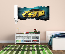 Personalised Graffiti Coloured Wall Art Sticker Name Style Boys/girls Bedroom 2 Small 550mm X 235mm