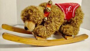 Hermann Spielwaren Sonneberg Museums Bear Rocking Rocker Bear 6/500 Teddy Bear