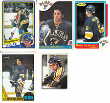 1984-85 OPC # 185 DOUG GILMOUR ROOKIE LOT (12)