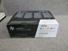 CF251AM CF411A CF412A CF413A 410A CYM New Genuine HP Print Cartridges