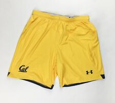New Under Armour Cal Golden Bears Armourfuse Soccer Short Men's Large Yellow