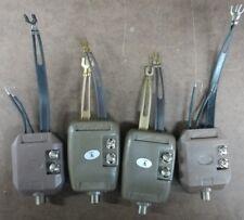 Vintage Lot of 4 signal separators/splitters