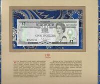 Most Treasured Banknotes Fiji 1 dollar 1987 P86 UNC Prefix D/7