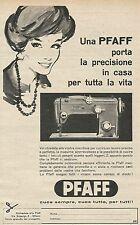 W8373 Macchina da cucire PFAFF - Pubblicità 1961 - Advertising