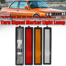 For BMW E30 E32 E34 3 Series L or R Replacement Rear Bumper Side Marker Light