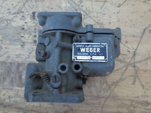 Original Weber 40DCZ6 #4544 Vintage Classic Ferrari 275 330