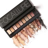 10 Colors Eye Shadow Smoky Cosmetic Shimmer Matte Eyeshadow Palette Makeup Set