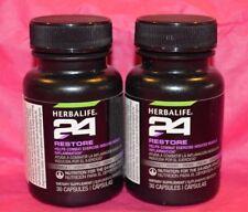 2 Herbalife 24 Restore 30 capsules 08/2018