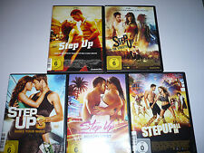 DVD - Step Up 1-5 1+2+3+4+5  To the Streets Make your Moves Miami Heat All In