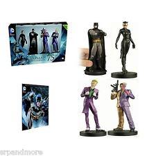 Batman 75th Anniversary Figurine Box Set with Collector Magazine-New