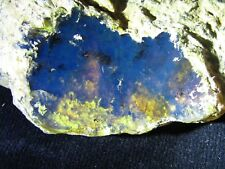 Dominican Amber blue stone gem natural authentic collectible rough (66.8 G)#898