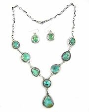 Carico Lake Turquoise Necklace and Earring Set