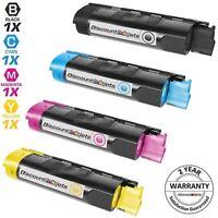 4PK BLACK COLOR Toner Cartridge for Okidata OKI C5400dn C5400dtn C5510MFP C5300n