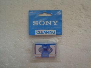 Microcassette de Nettoyage SONY CM-1K Cleaning Cassette - K7 Neuf