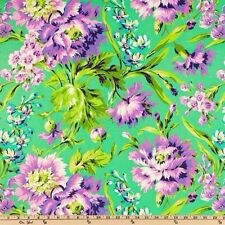 Amy Butler Love Bliss Bouquet Emerald 100% Cotton  Half Yard 45cm x 110cm