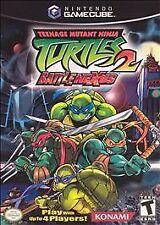 Teenage Mutant Ninja Turtles 2: BattleNexus (Nintendo GameCube, 2004)