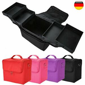 Kosmetikkoffer Friseurkoffer Schminkkoffer Nageldesignkoffer Make Up Taschen DHL