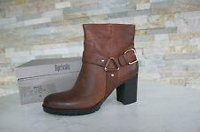 BPRIVATE gr 41 BOTINES Tobillo Botas Zapatos Vintage g1402p marrón NUEVO
